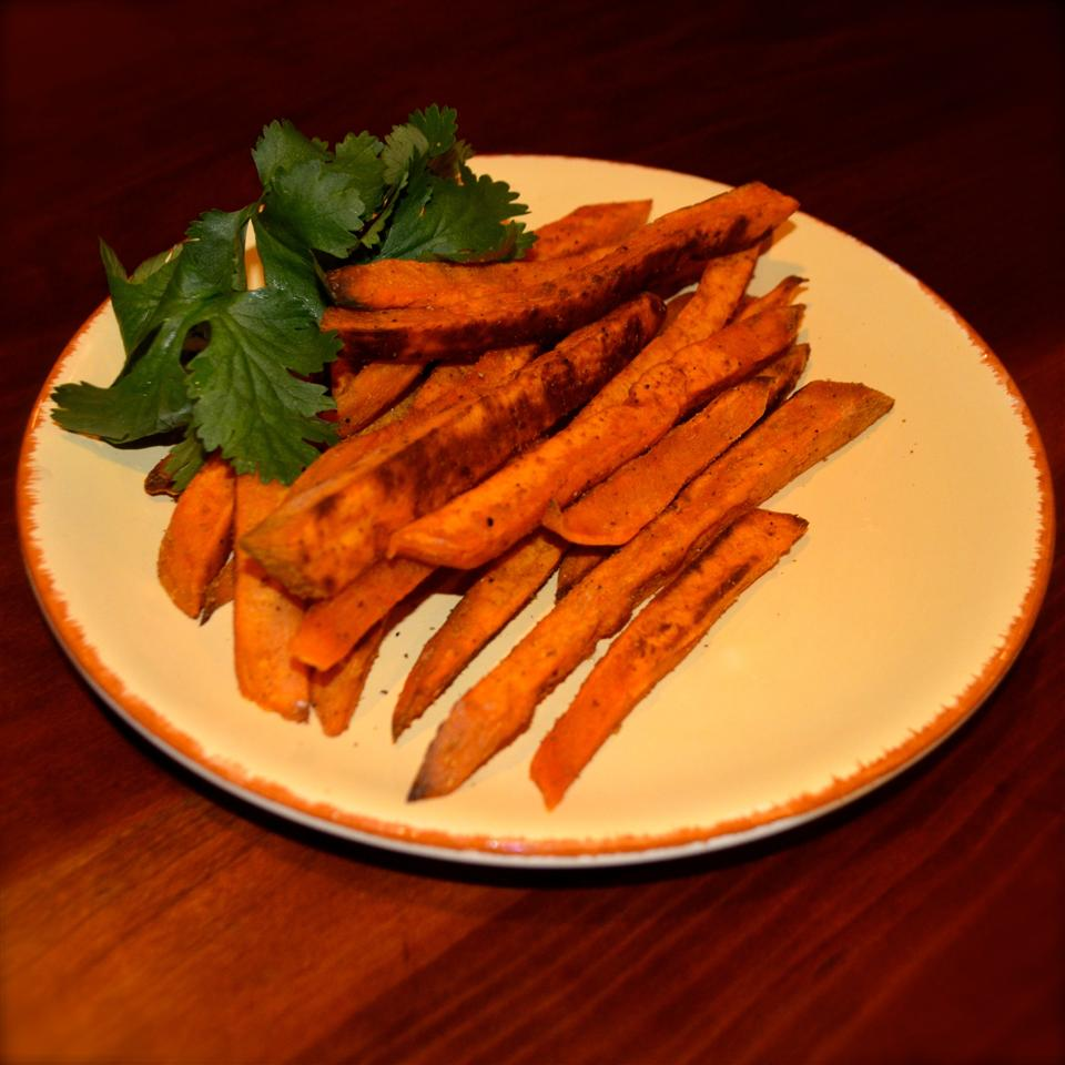 Delicious Sweet Potato Fries Bibi