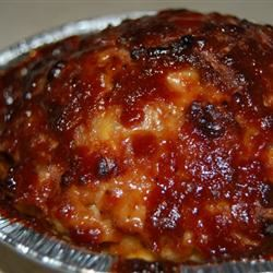 Incredibly Cheesy Turkey Meatloaf Little V