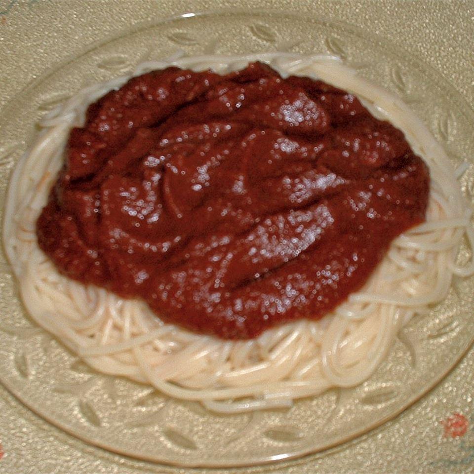 Tomato Juice Spaghetti Sauce