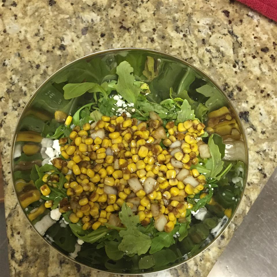 Corn Salad with Arugula cieloco