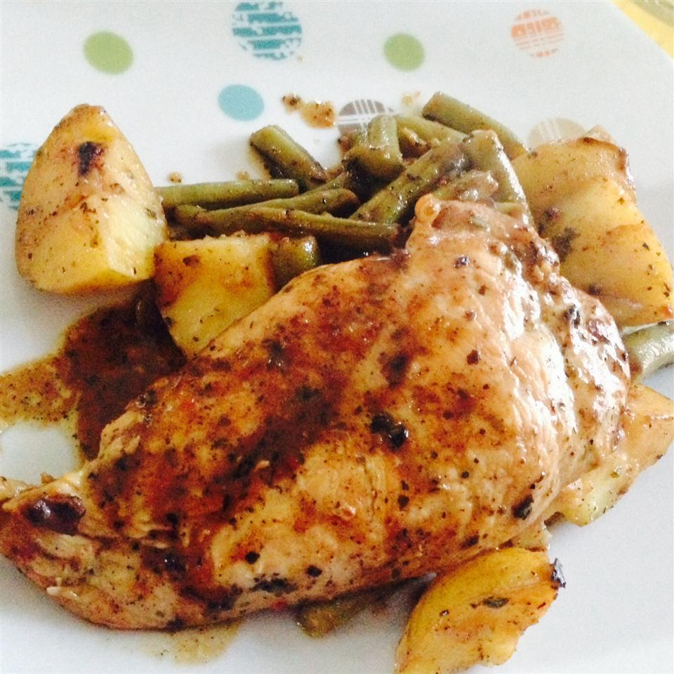 Garlic Chicken and Potatoes Vanessa Lyn