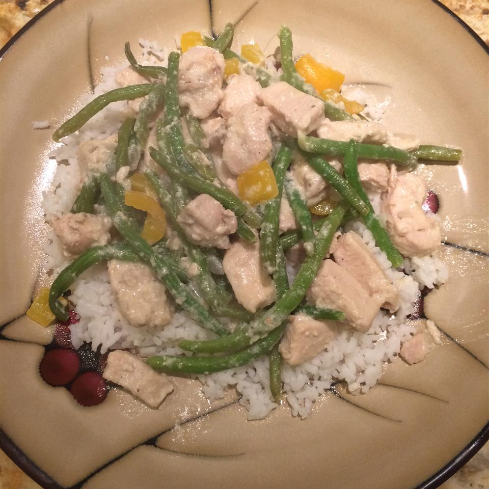 Divine Chicken with Green Beans Oppy