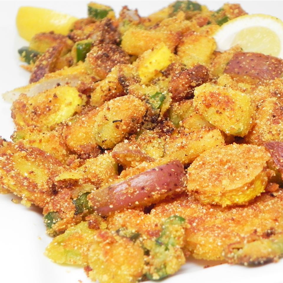 Arkansas Fried Veggie Skillet