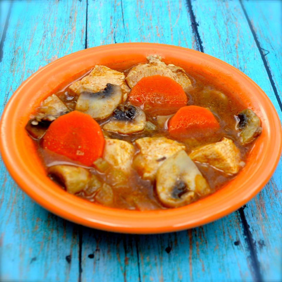 Healthier Chicken Vegetable Stew KIMMORAES