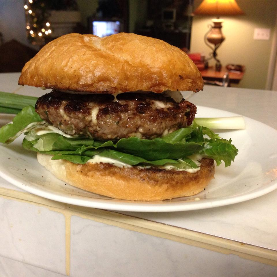 Blue Cheese Burgers Sherry614