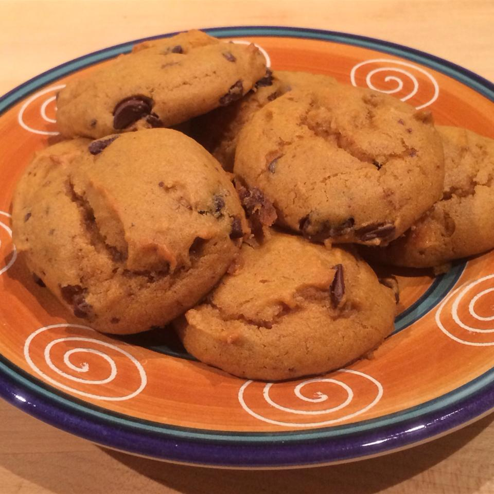Pumpkin Chocolate Chip Cookies II