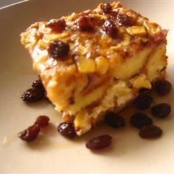 Apple Raisin French Toast Strata Michelle Pham