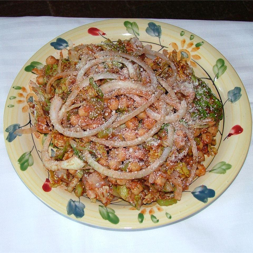 mediterranean chickpea salad i recipe