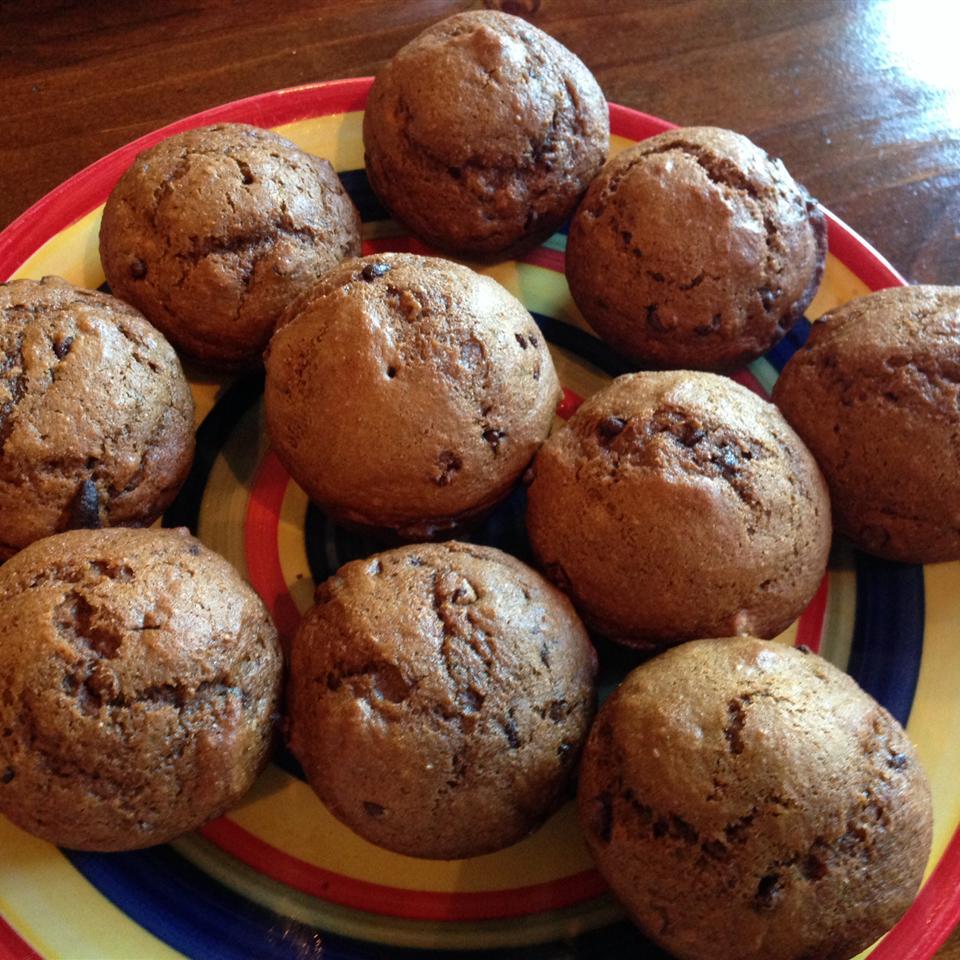 Pumpkin-Dark Chocolate Chip Muffins kimv