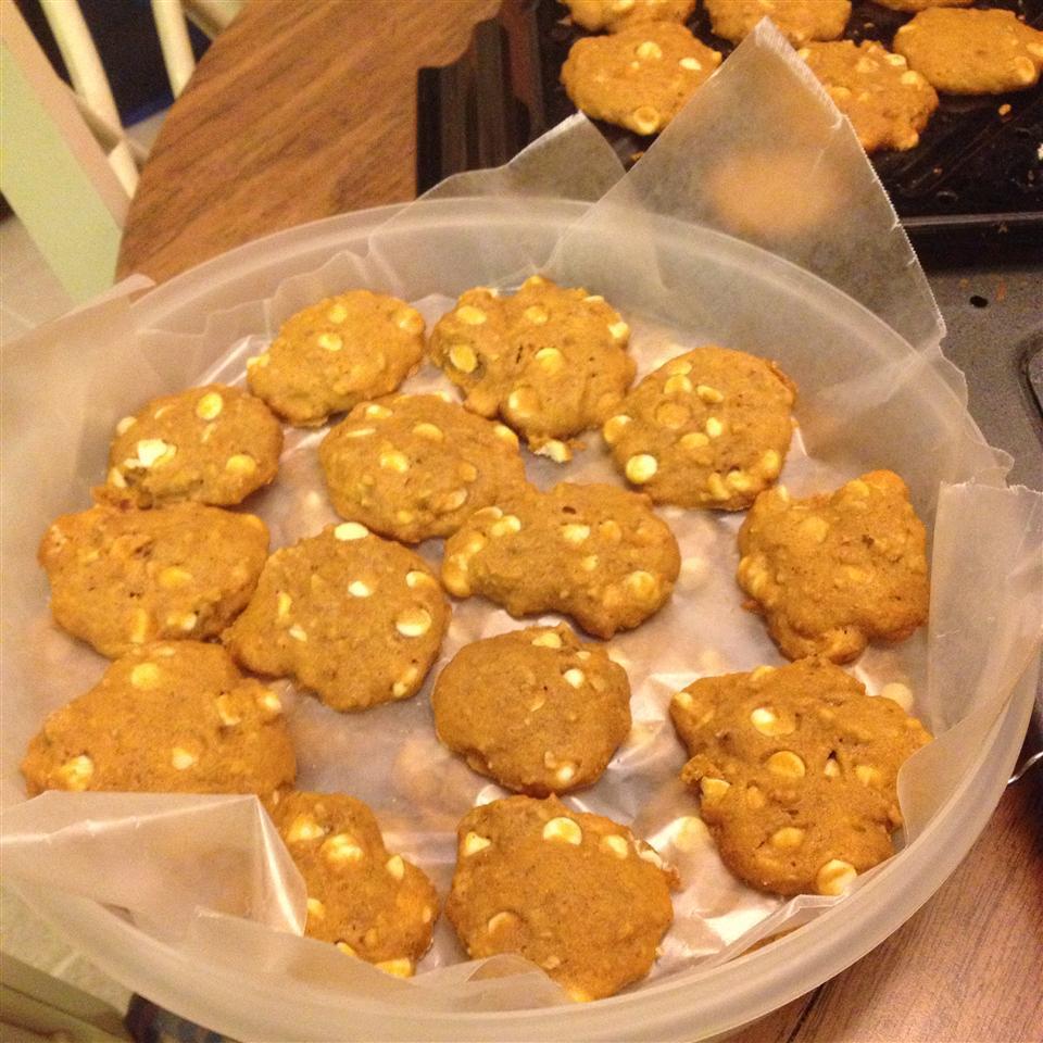 White Chocolate Pumpkin Cookies Koriahn Quint