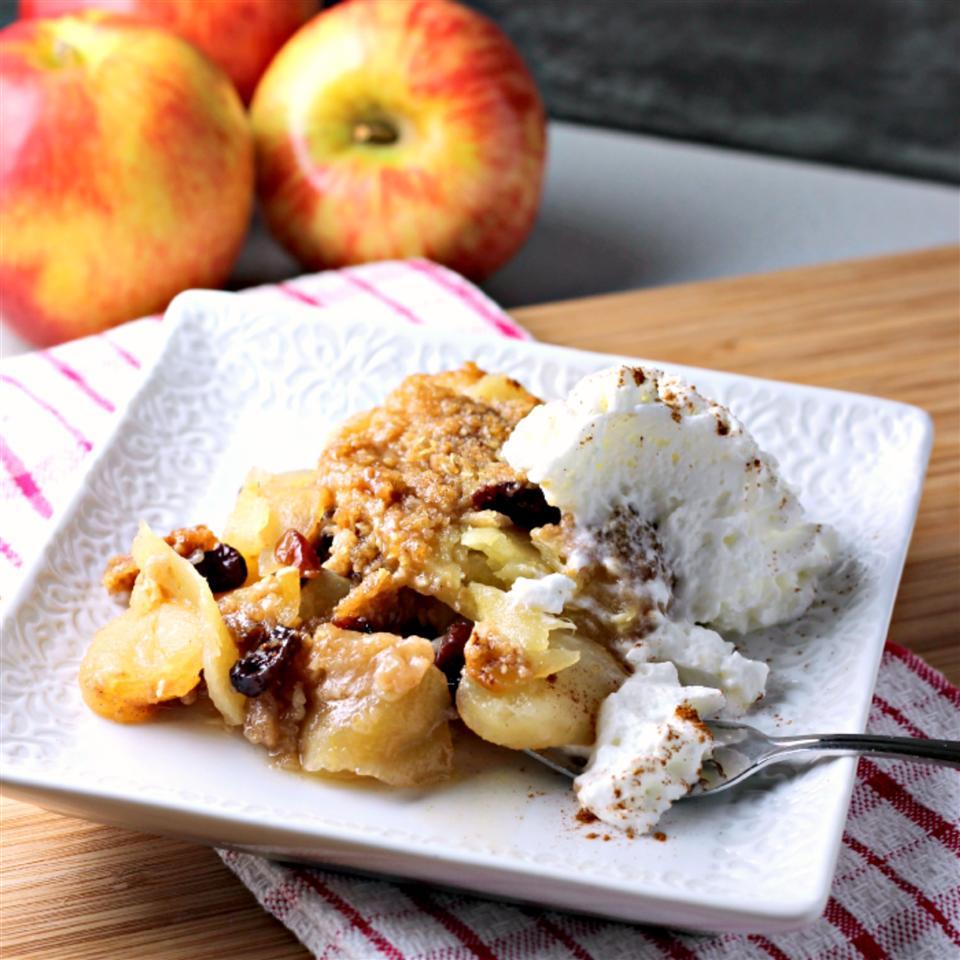 Apple-Cranberry Crisp by PAM® ReneePaj