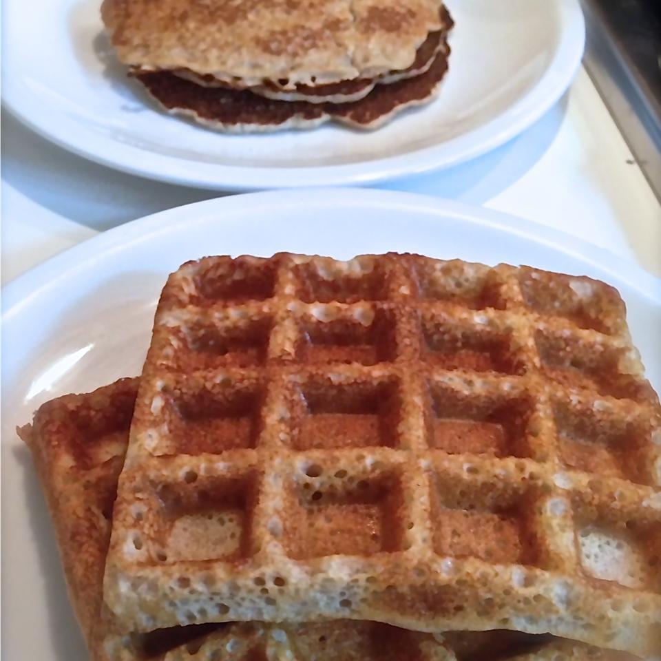 Gluten-Free Waffles Buckwheat Queen