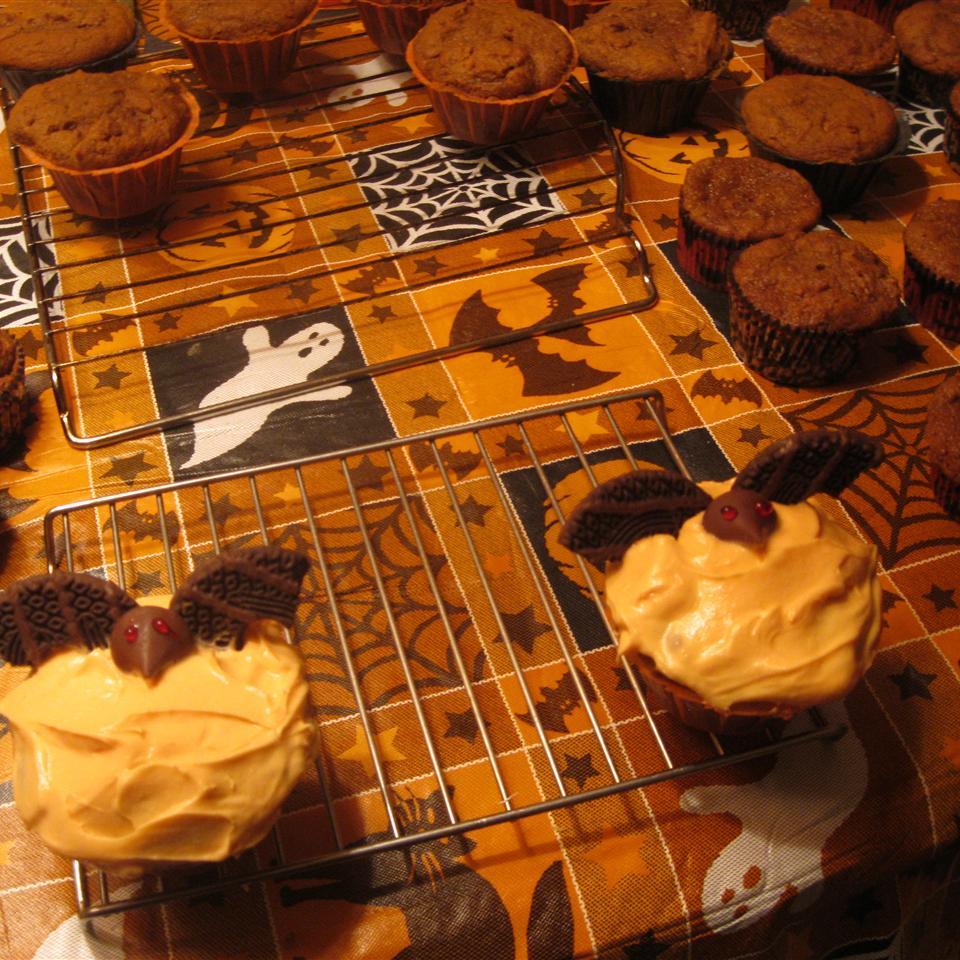 Bat Cupcakes