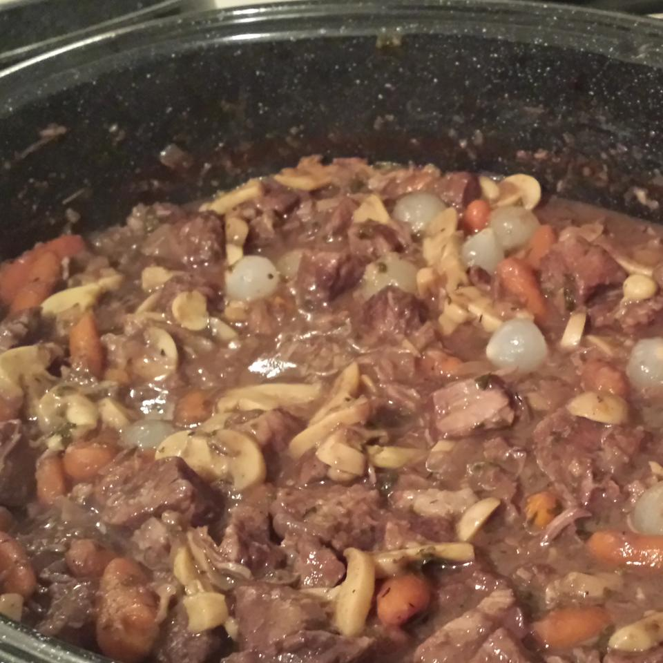 Beef Bourguignon II