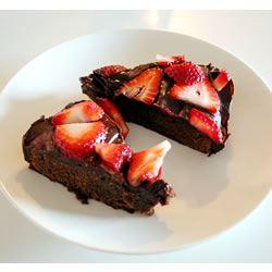 Brownie Torte terka