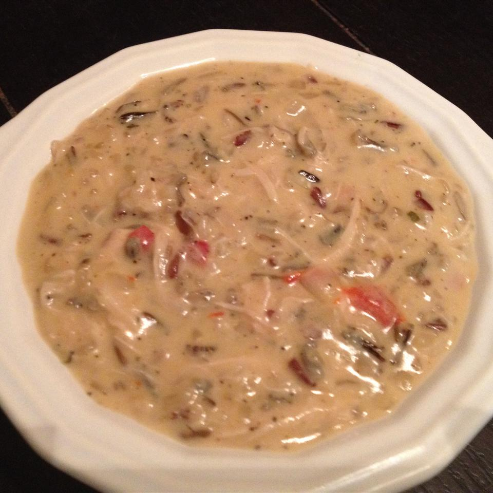 Wild Rice And Chicken Soup Heather Michaud