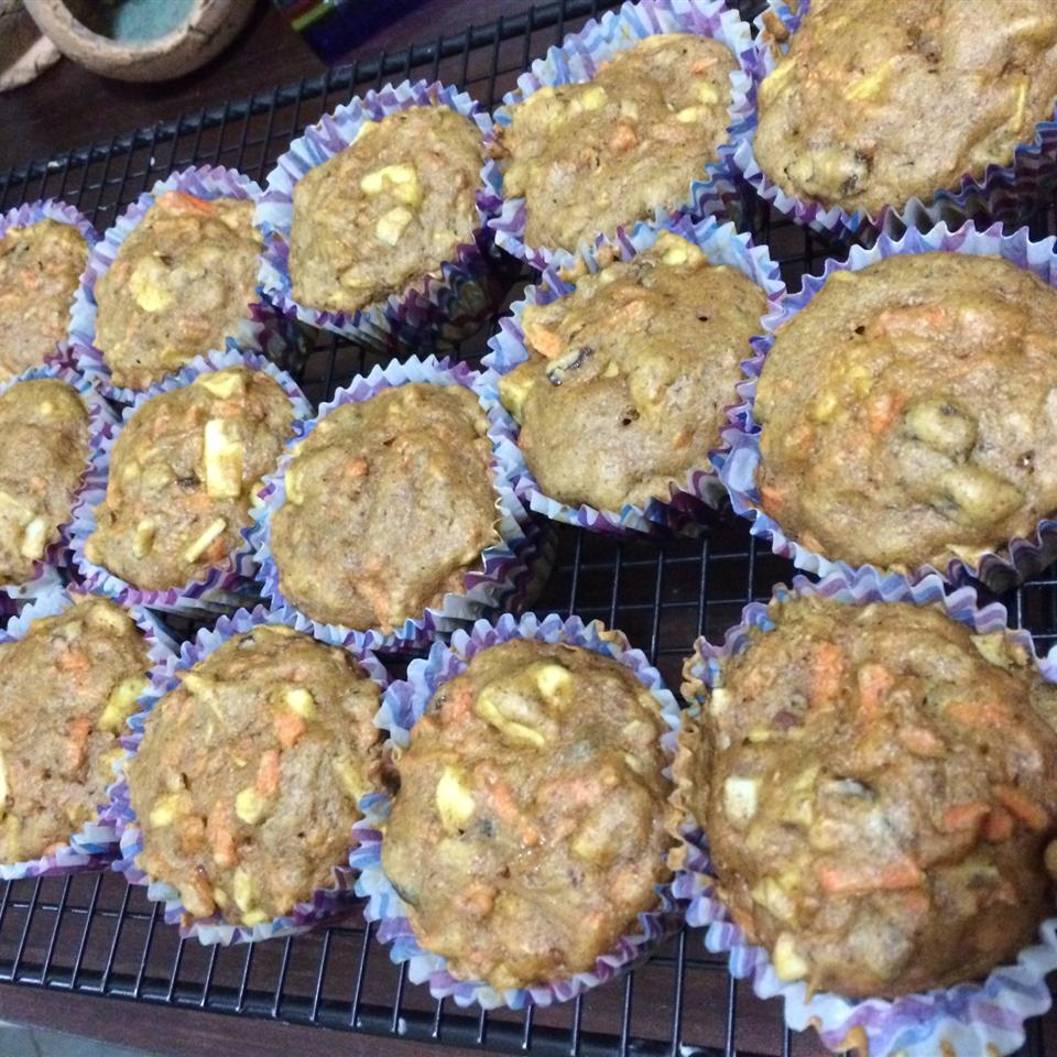 Great Apple and Carrot Muffins justine