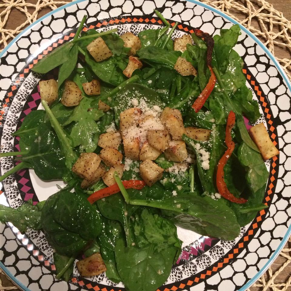 Roasted Sweet Potato and Rocket Salad Hany