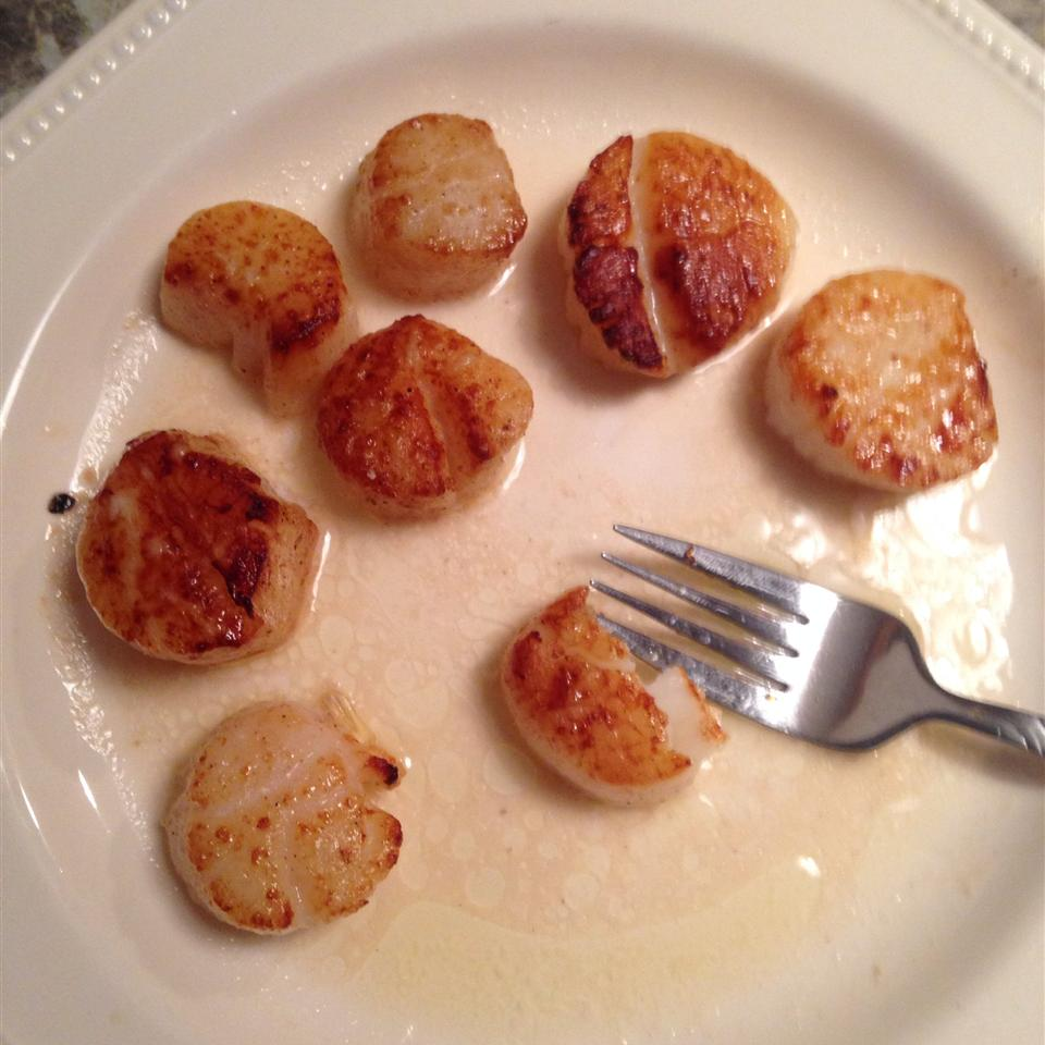 Broiled Scallops Troy Focht