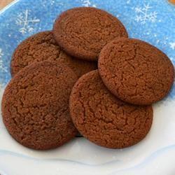 Eggless Ginger Cookies Moe