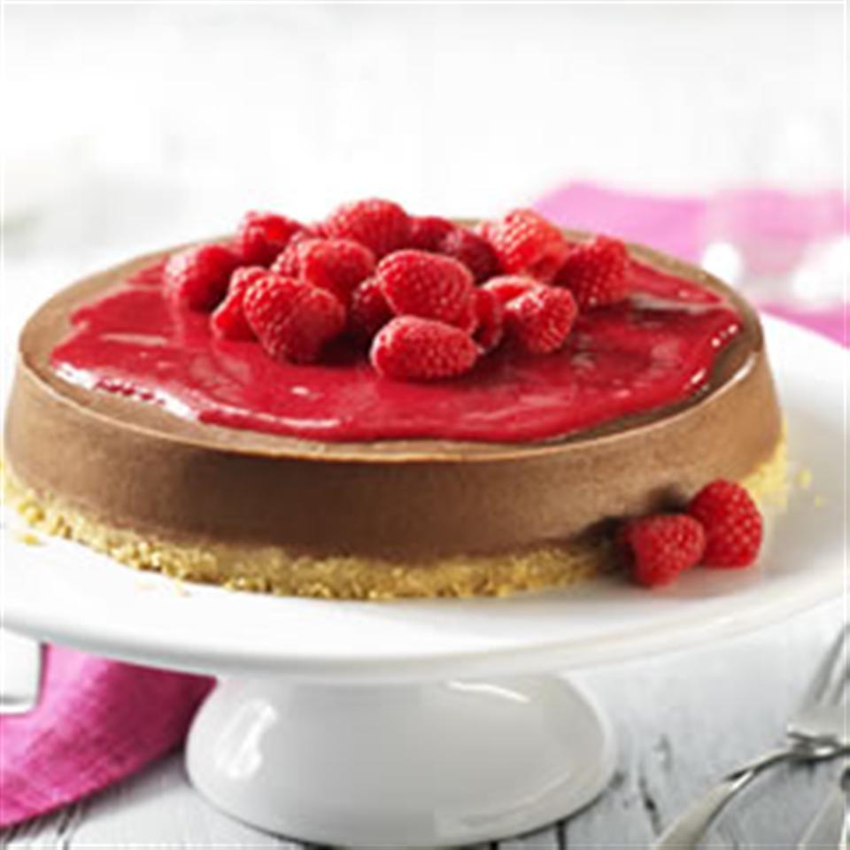 Chocolate-Raspberry Cheesecake Trusted Brands