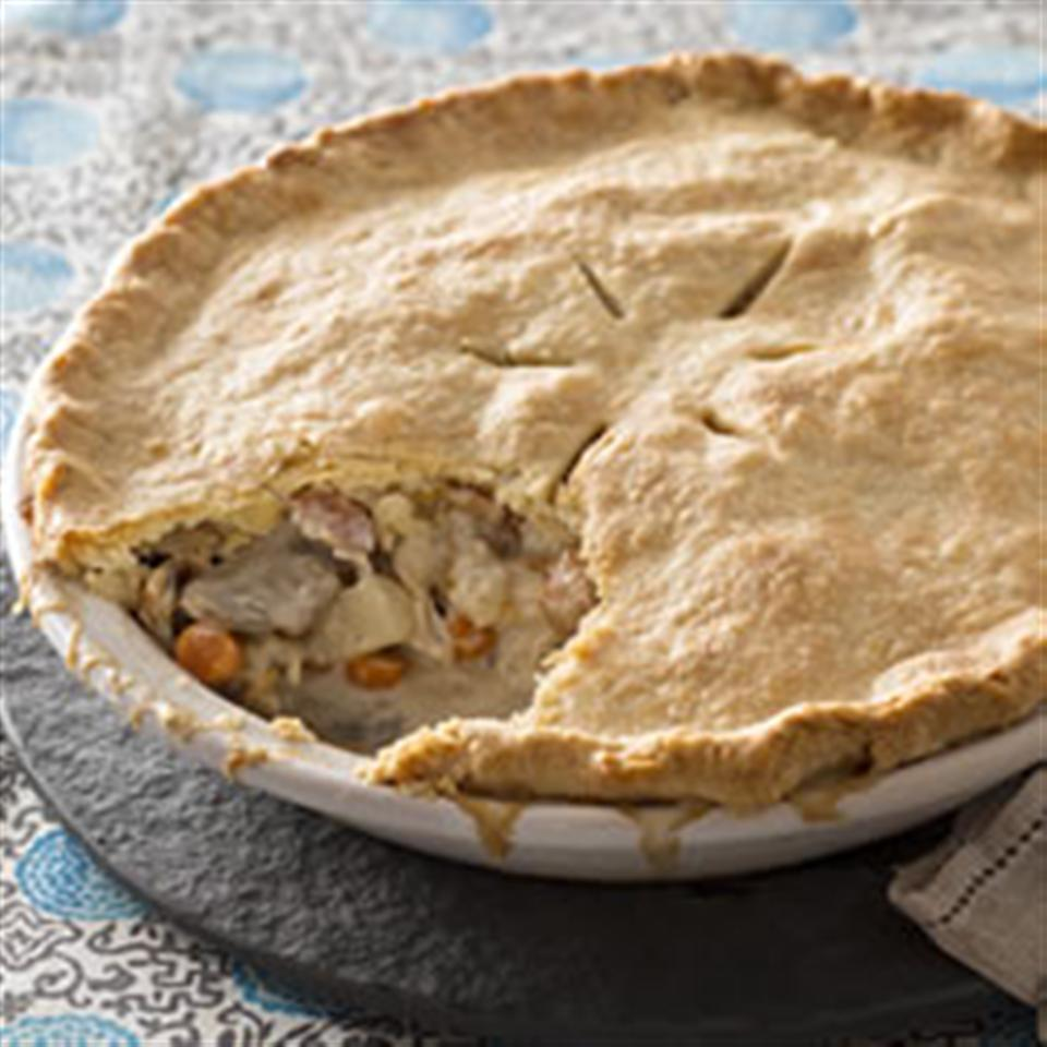 Chicken and Bacon Pot Pie Trusted Brands