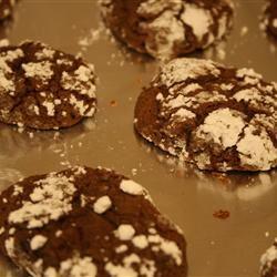 Brown Sugar Chocolate Crackle Cookies sugarbellesouth