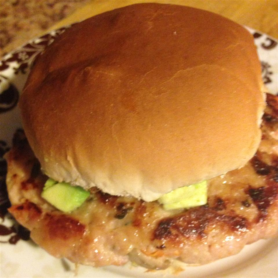Grilled Chicken Burgers