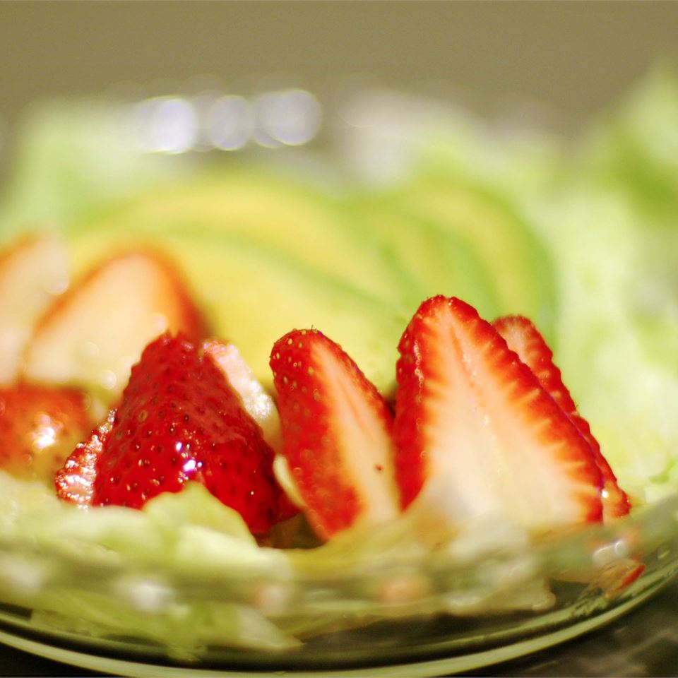 Strawberry Avocado Salad LynnInHK