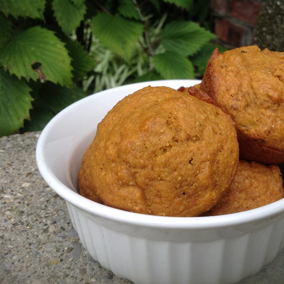 Pumpkin Wheat Honey Muffins Bamabeagle