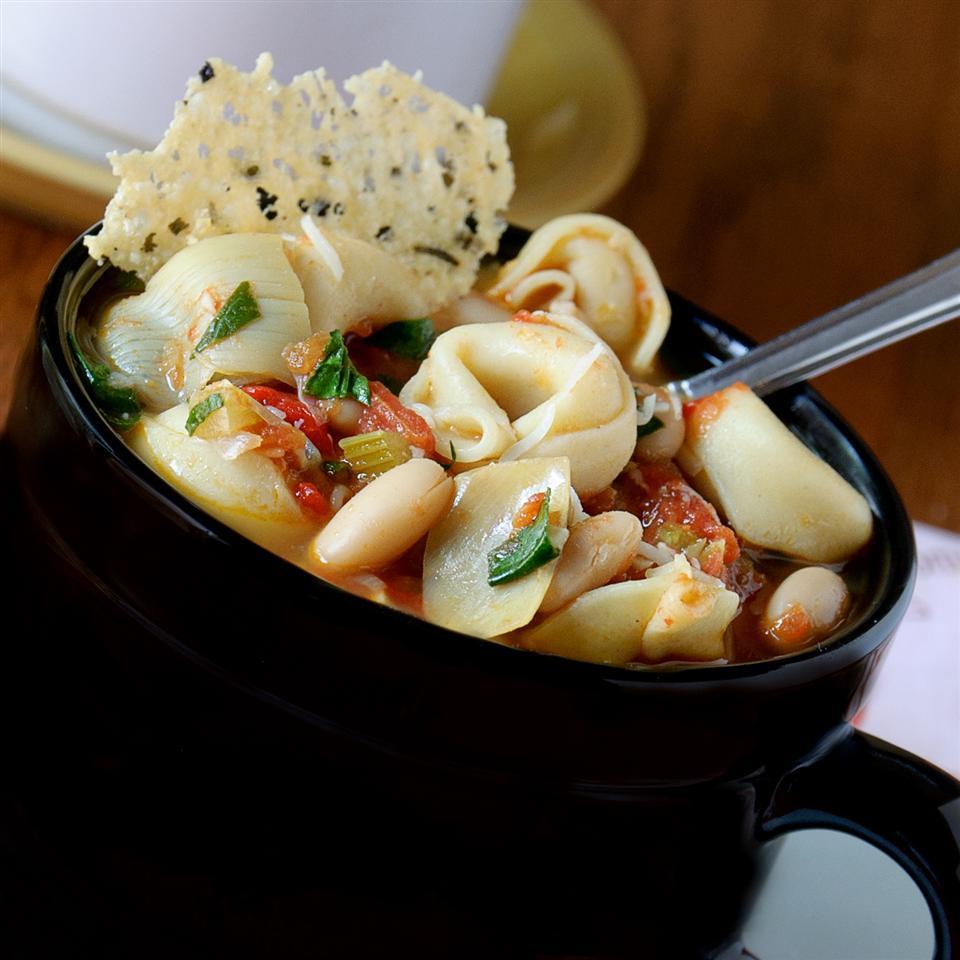 Slow Cooker Tortellini KGora