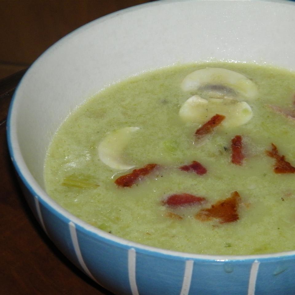 Cream of Asparagus and Mushroom Soup Seattle2Sydney