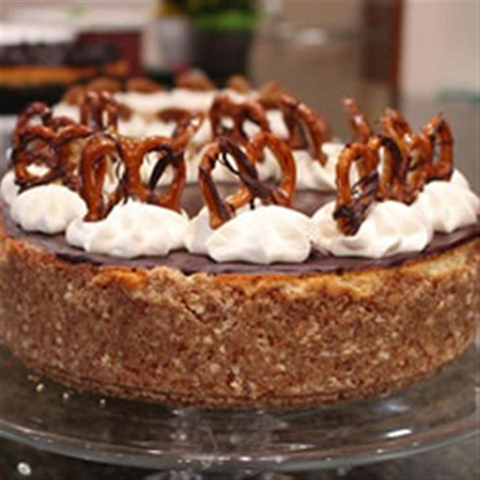 Caramel-Pretzel Cheesecake Trusted Brands