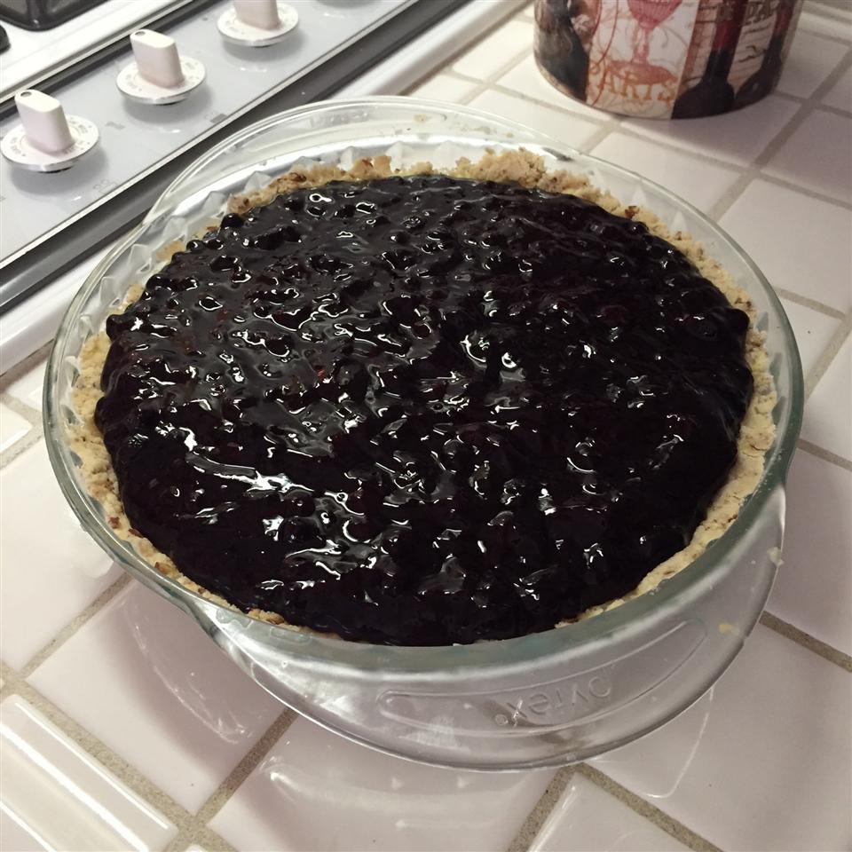 Huckleberry Cream Cheese Pie Andrew Rothenberger