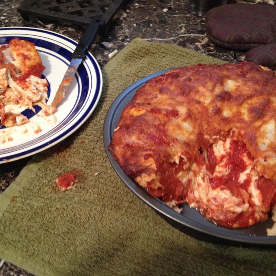 Impossibly Easy Pizza Bake John Tenney