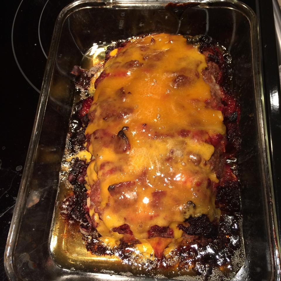 Dad's Cheesy Bacon Wrapped Meat Loaf Allan Tonkin