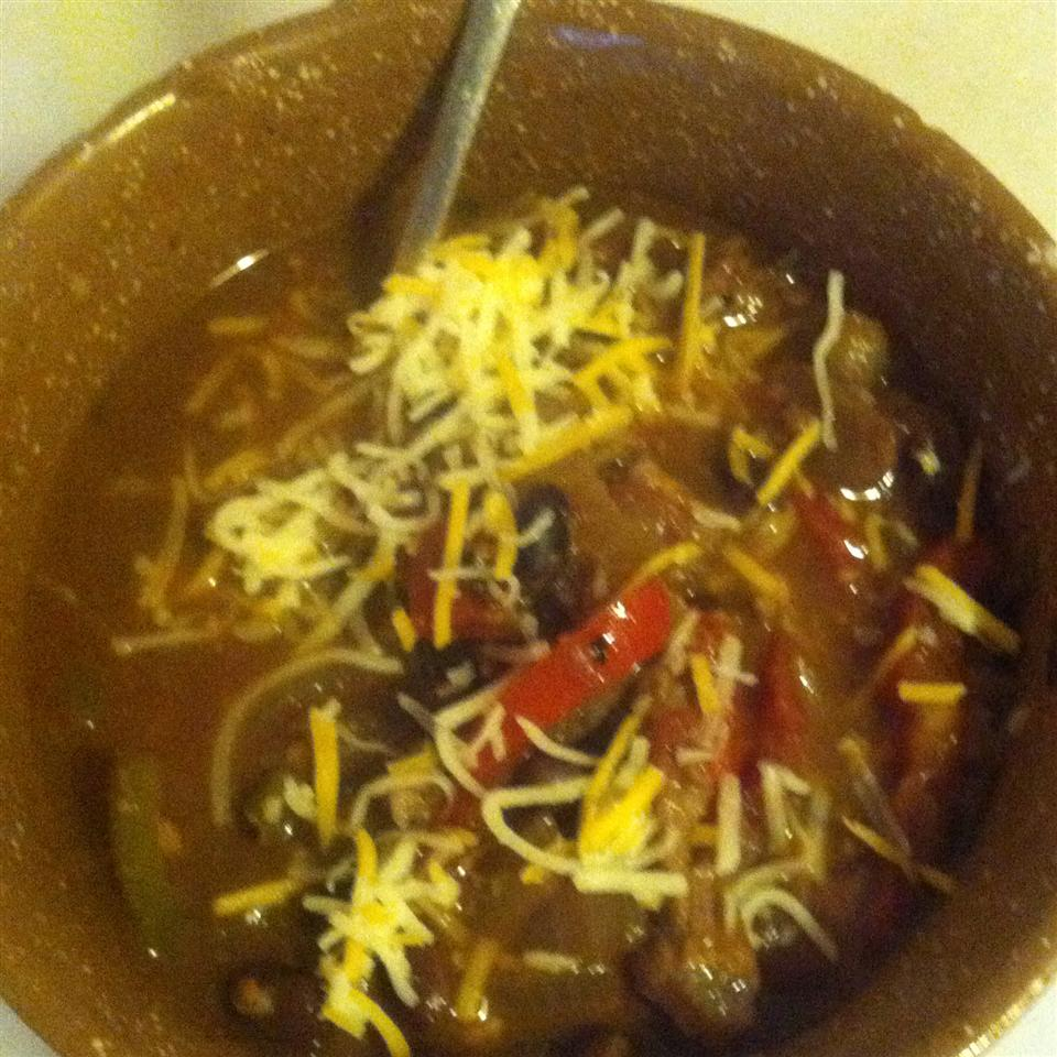 Easy Chicken Fajita Soup