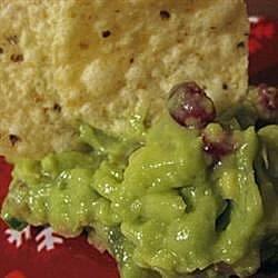 holiday guacamole recipe