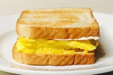 toms scrambled egg sandwich recipe
