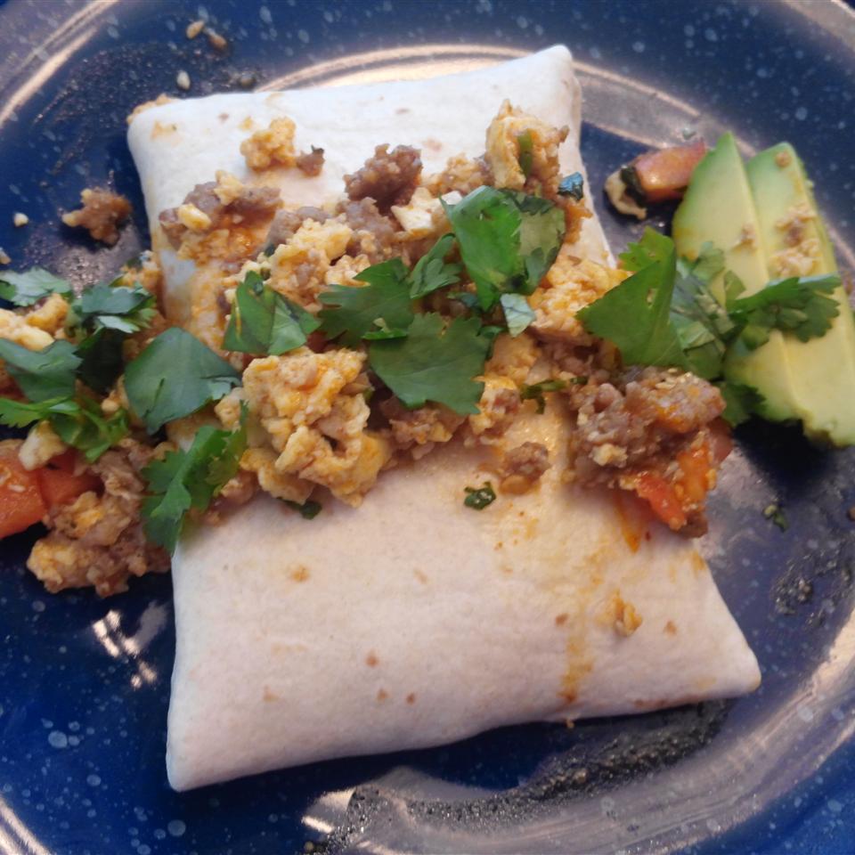 Southwest Breakfast Burritos roadrunner