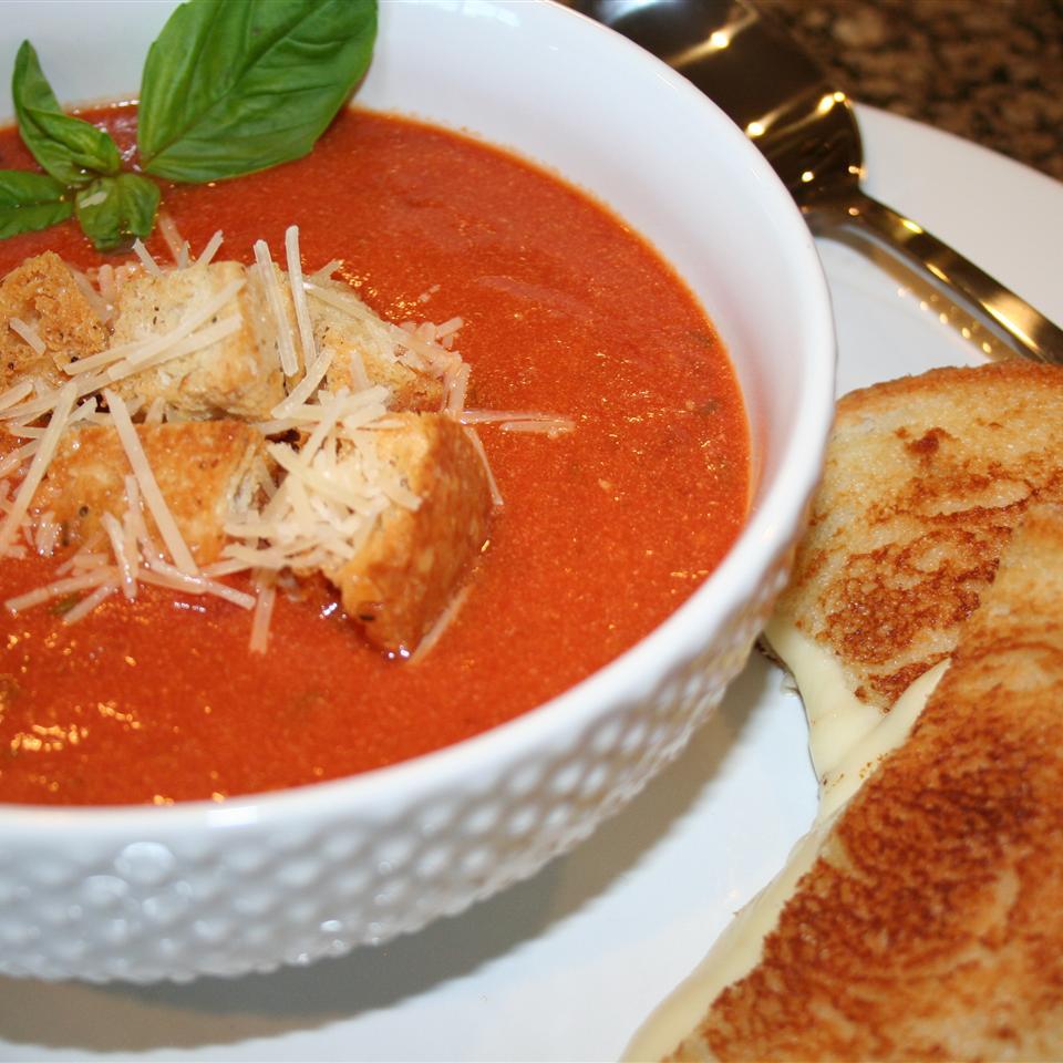 Basil Tomato Soup Ms. Chef Esh