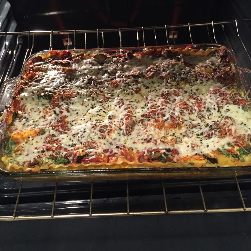 Veggie Lasagna Florentine Travon Janay