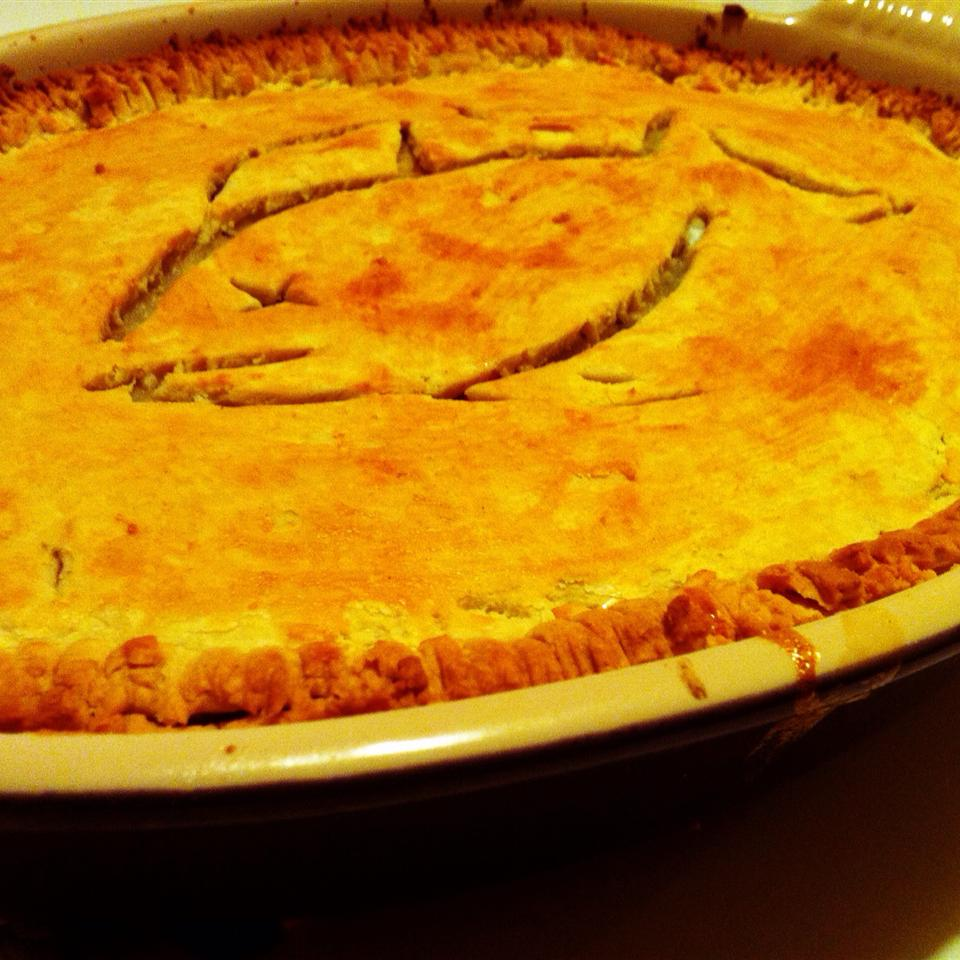 Salmon and Potato Pie CJ