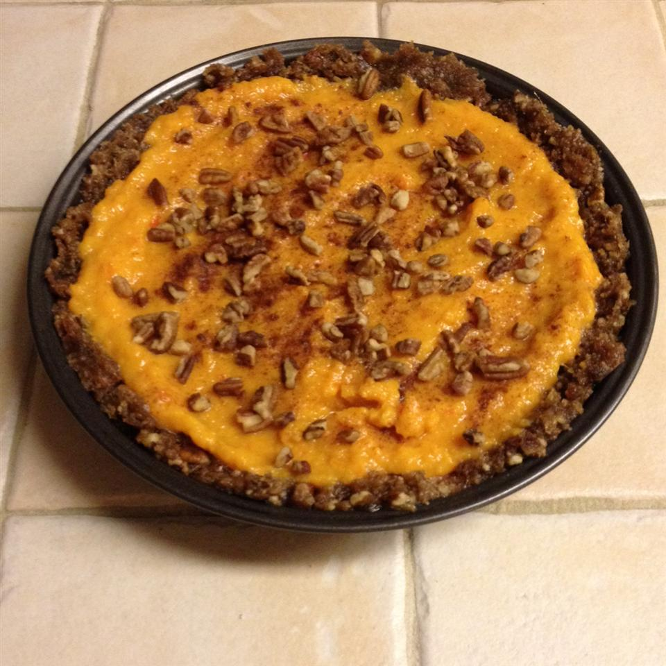 Paleo Persimmon Pie