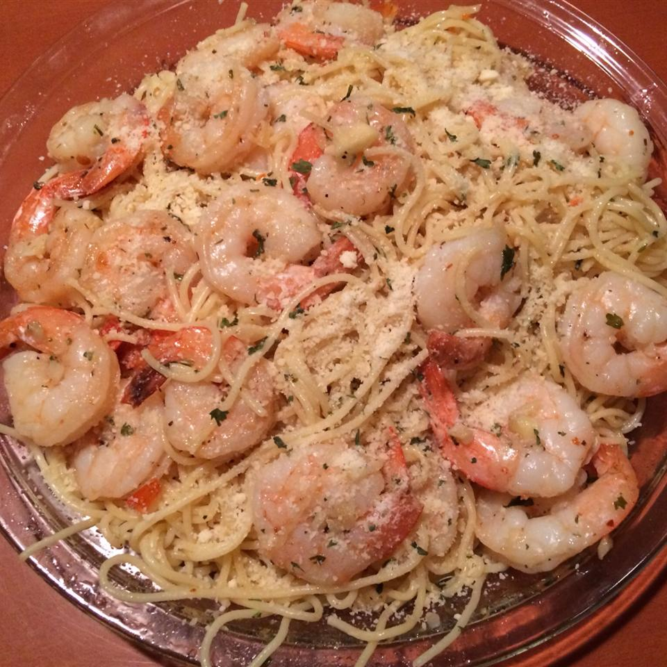 Garlic Shrimp Linguine vonthron
