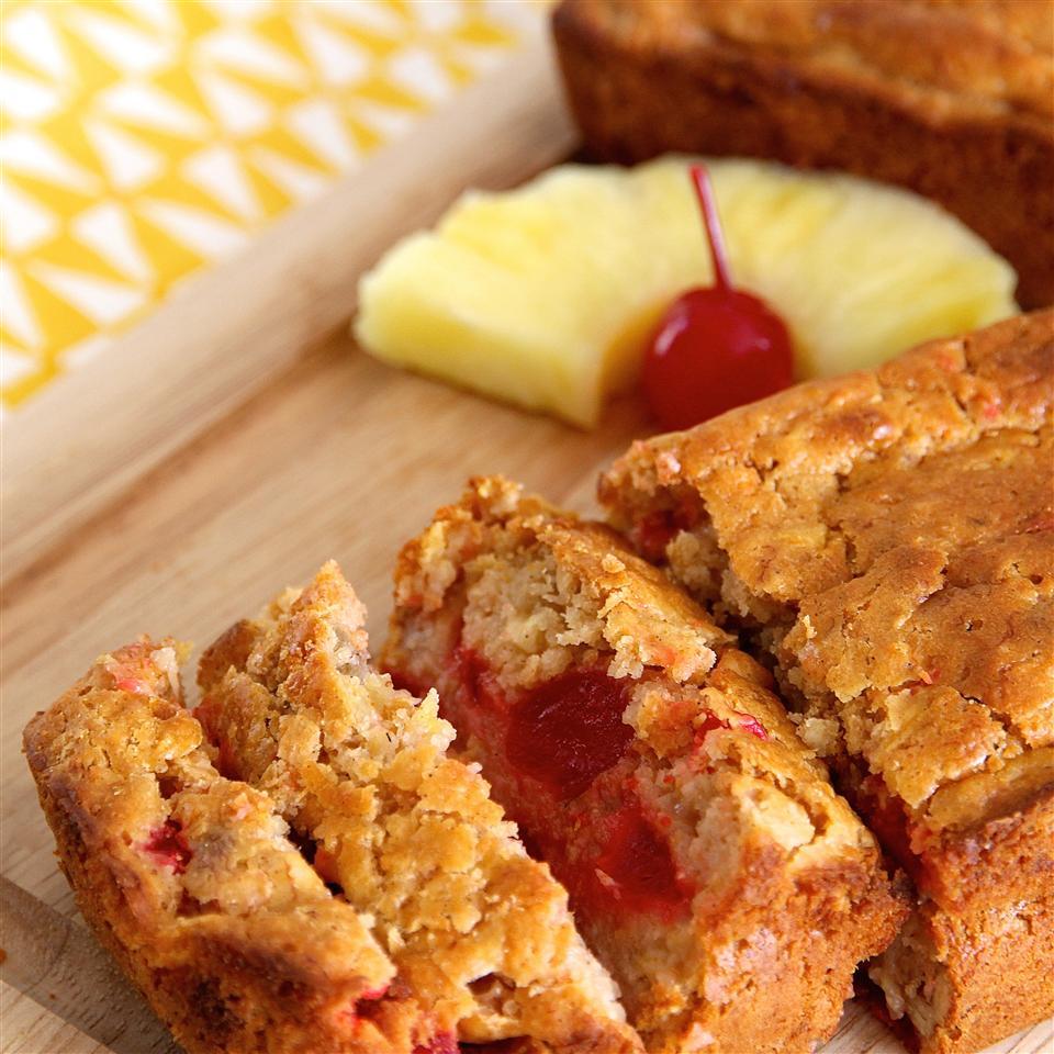 Cherry Pineapple Banana Bread