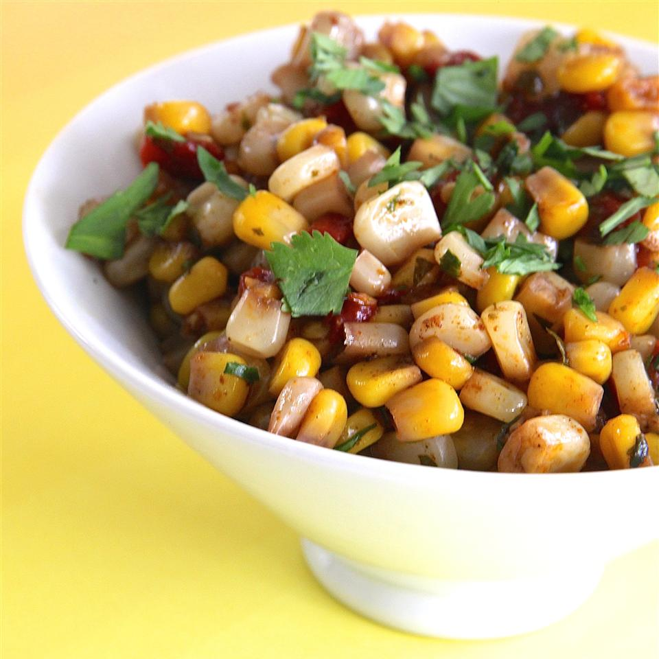 Corn and Roasted Red Pepper Salad