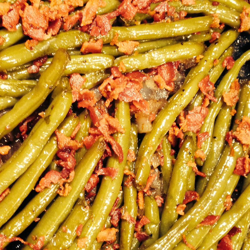 Sweet and Tangy Green Beans kim c