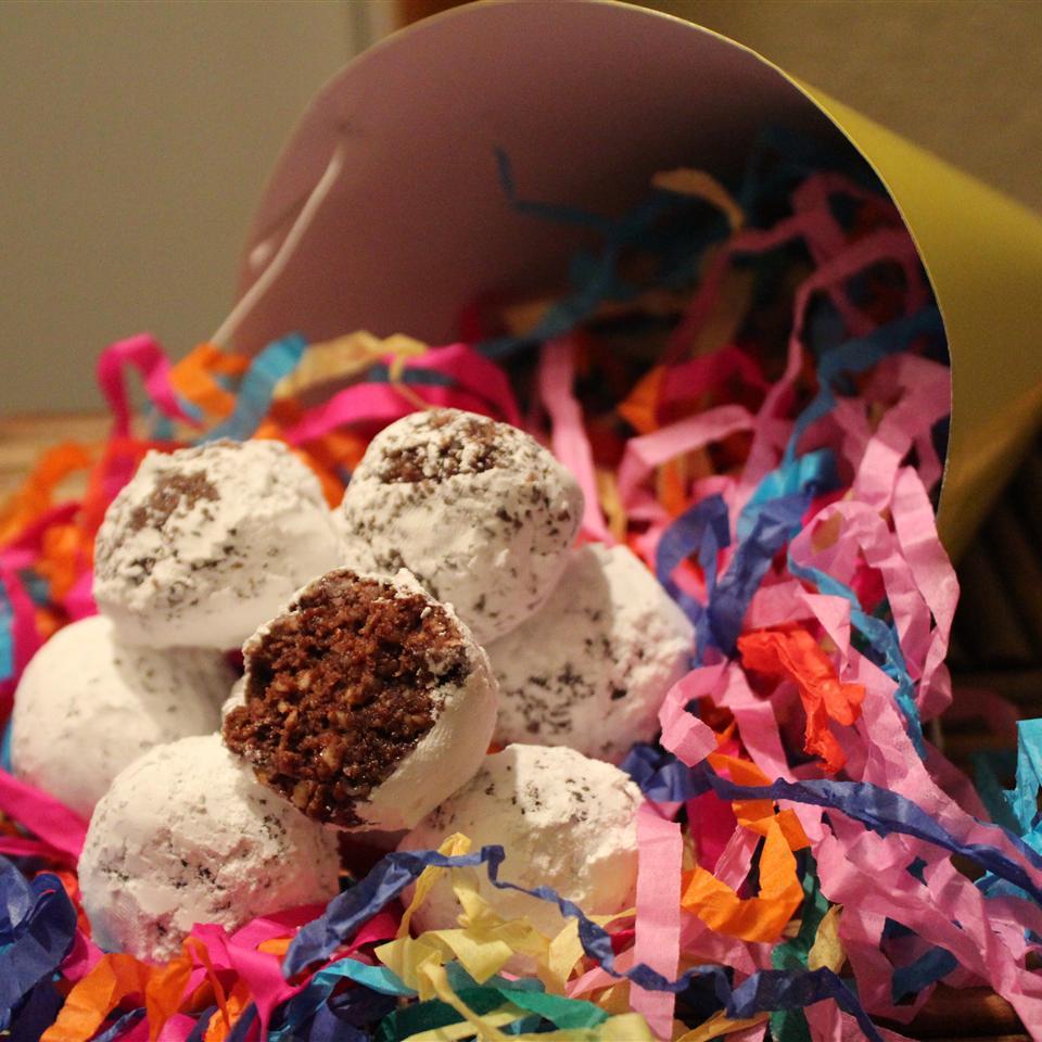 Easy Cheerio® Coconut Rum Balls