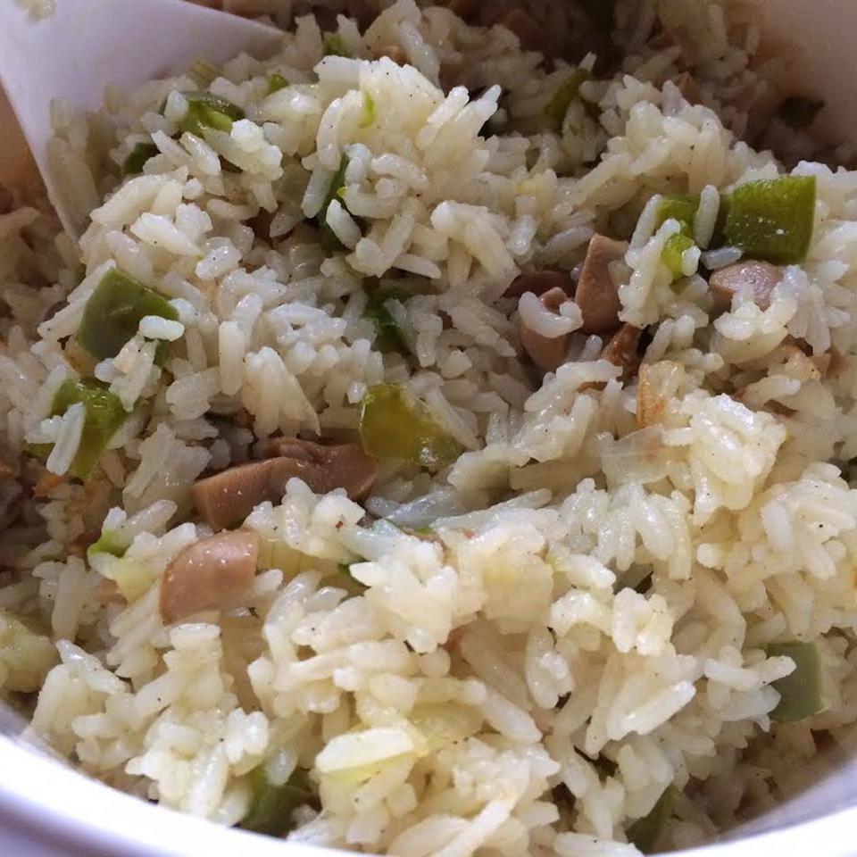 Fresh Mushroom Rice Pilaf riaredfern
